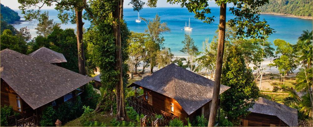 Bunga Raya Island Resort 5* - isola di Gaya