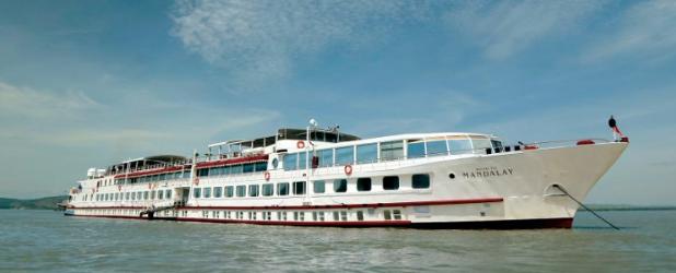 Crociera sul Fiume Irrawady con la nave di lusso