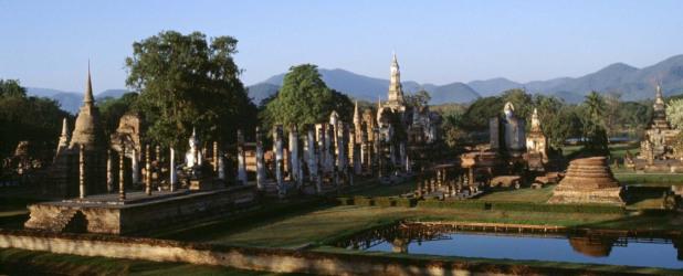 Le antiche capitali del regno del Siam