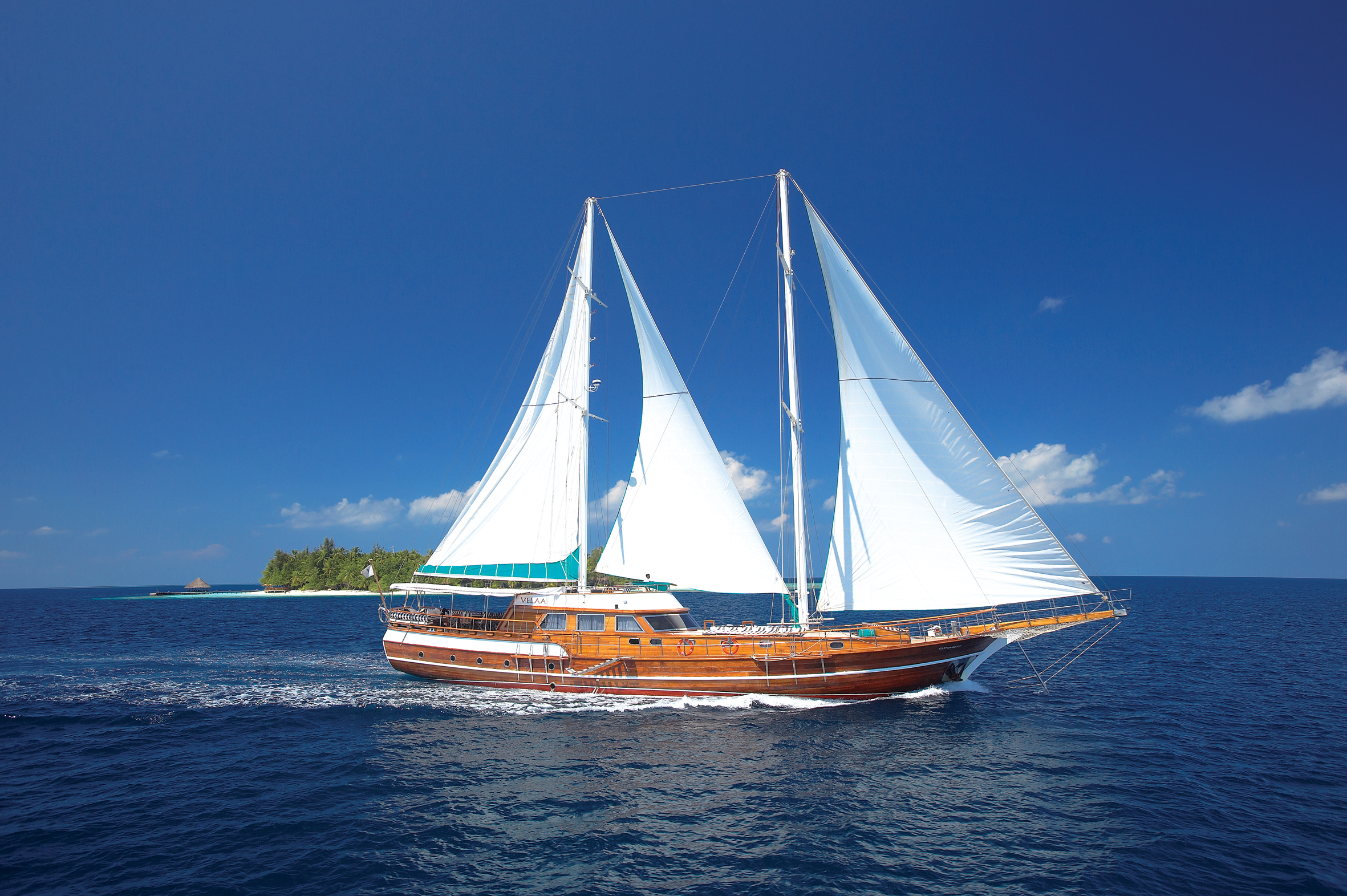 Banyan Velaa cruises to the famous dive spots