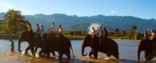 Da Bangkok a Chiang Mai via terra partenze ogni martedì e venerdì