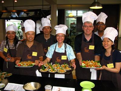 Cooking class a Bangkok
