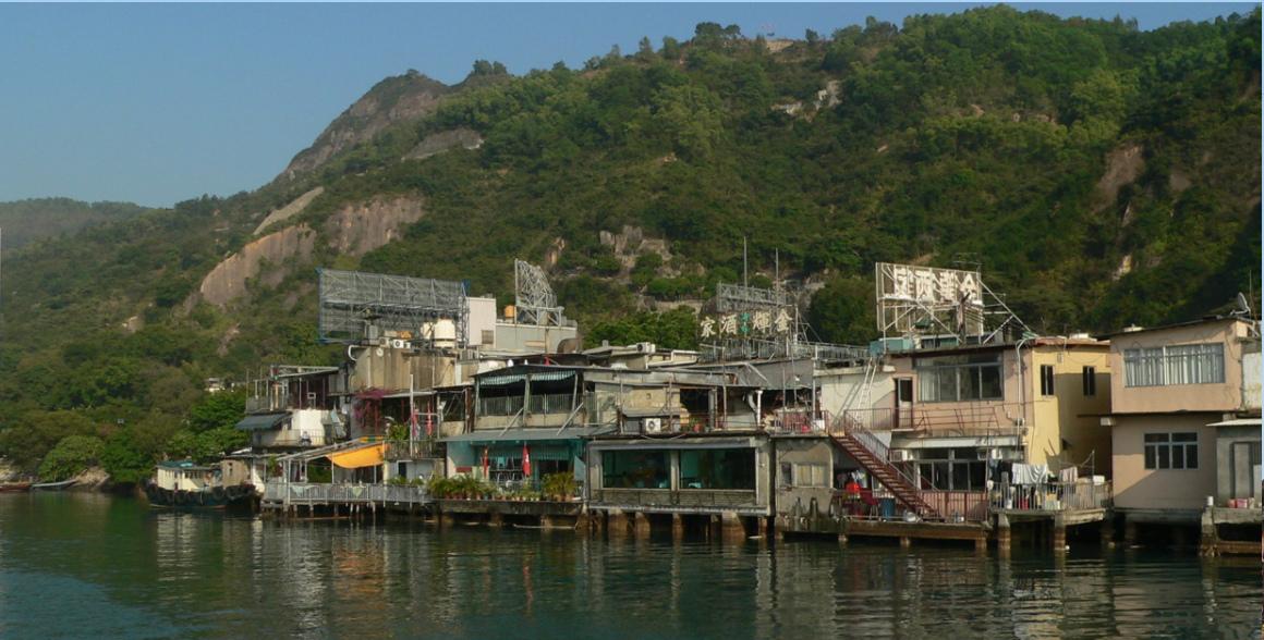 Crociera serale al villaggio dei pescatori Lei Yue Mun