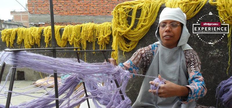 Esperienza con ALTROMERCATO a Kathmandu KTS