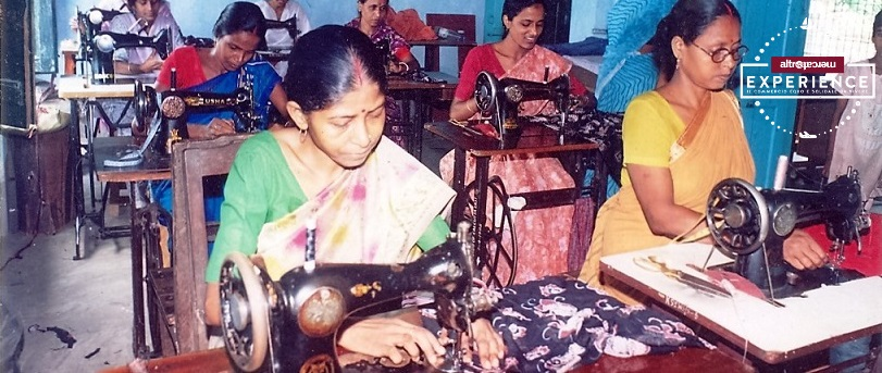 Esperienza con ALTROMERCATO Calcutta Block printing