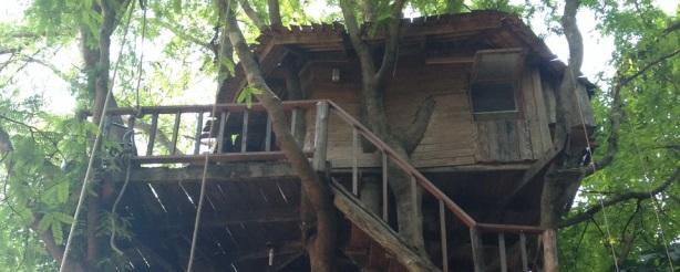 La casetta sull'albero ecosostenibile