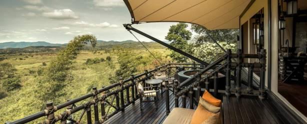 In tende di lusso nella foresta pluviale