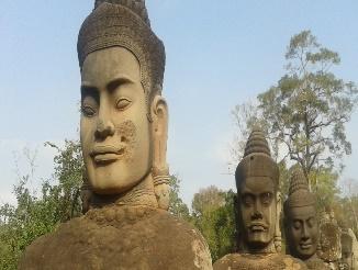 Caccia al tesoro all'Angkor Wat