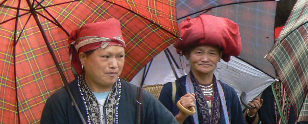 Mountains and tribes of the norhern part of Vietnam