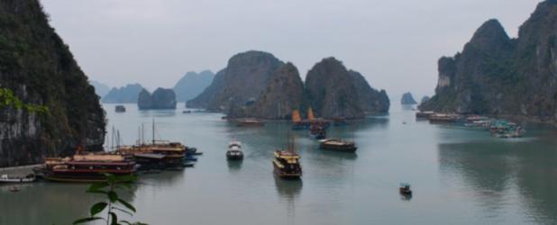 Hoa Lu, Tam Coc e Halong Bay