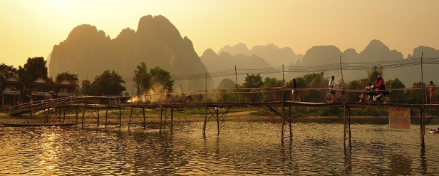 Lo spettacolo naturale di Vang Vieng