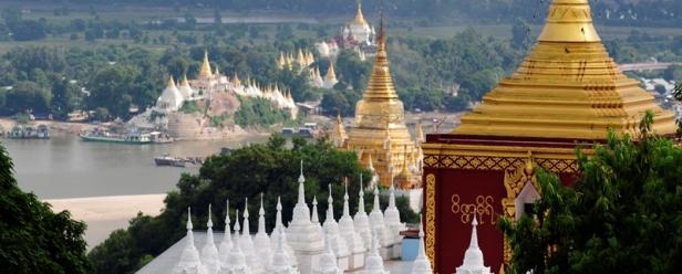 Relax spirituali a Sagaing Hill