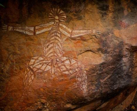 Arte rupestre e miti aborigeni