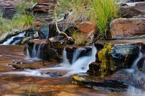 Eco-tende e canyoning a Karijini
