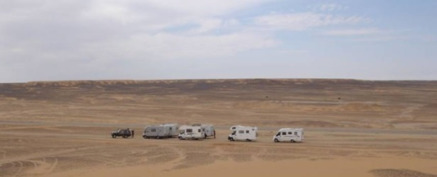 On the camper in the footsteps of Ciro