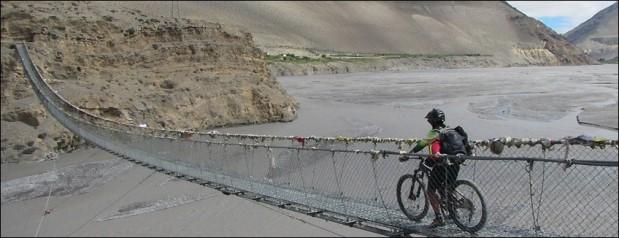 Nepal in mountain bike
