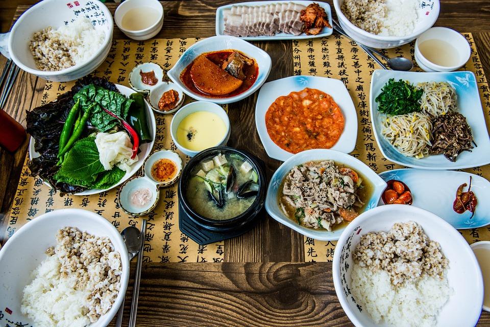 Lezione di cucina coreana